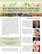 Myth Matter flyer
