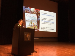 Danielle Dart coordinates educational outreach programs for the Minnesota History Center.