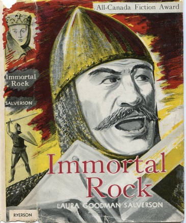 1954 - Immortal Rock book jacket